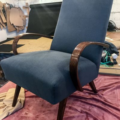 "Photo of project ""Armchair Reupholstery 18"" #2"