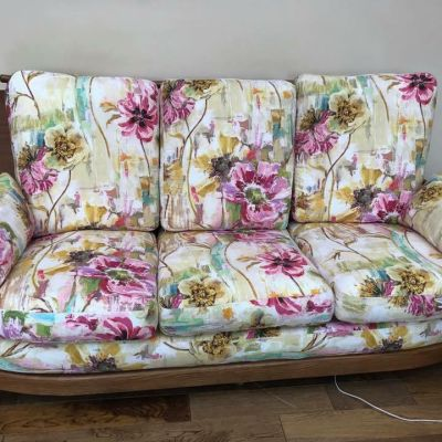 "Photo of project ""Armchair Reupholstery 3"" #2"