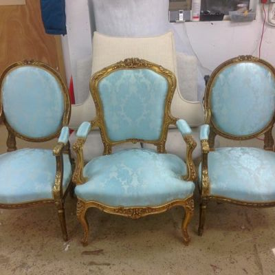 "Photo of project ""Classic Chairs Reupholstery 1"" #1"