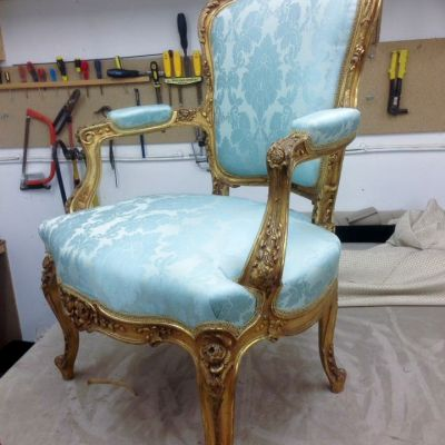 "Photo of project ""Classic Chairs Reupholstery 1"" #7"