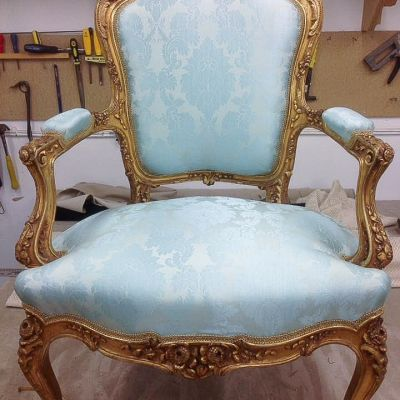 "Photo of project ""Classic Chairs Reupholstery 1"" #6"