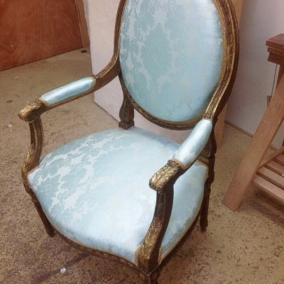 "Photo of project ""Classic Chairs Reupholstery 1"" #5"