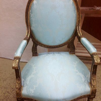 "Photo of project ""Classic Chairs Reupholstery 1"" #4"
