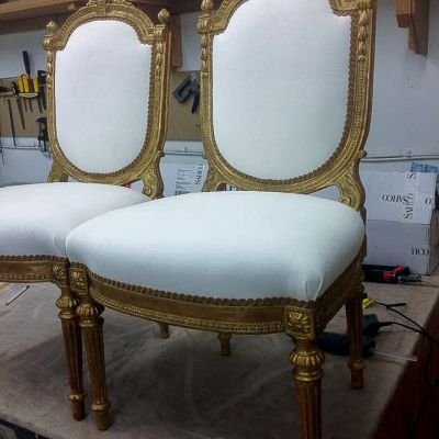 "Photo of project ""Classic Chairs Reupholstery 1"" #3"