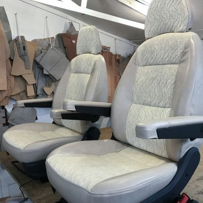 "Photo of project ""Ducato Motorhome Upholstery"" #1"