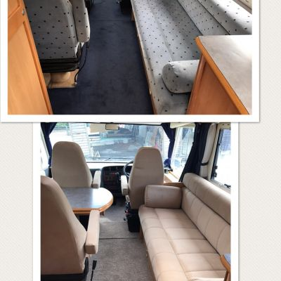 "Photo of project ""Ducato suede upholstery"" #6"
