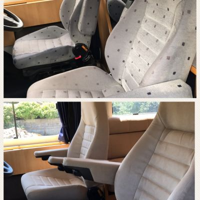 "Photo of project ""Ducato suede upholstery"" #4"