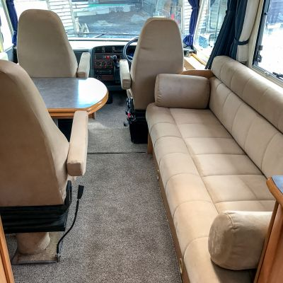 "Photo of project ""Ducato suede upholstery"" #7"