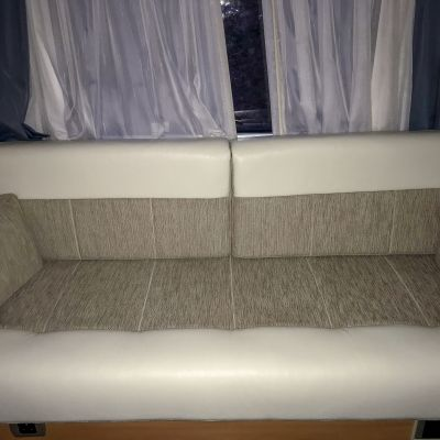 "Photo of project ""Hymer B584 New half leather upholstery"" #7"