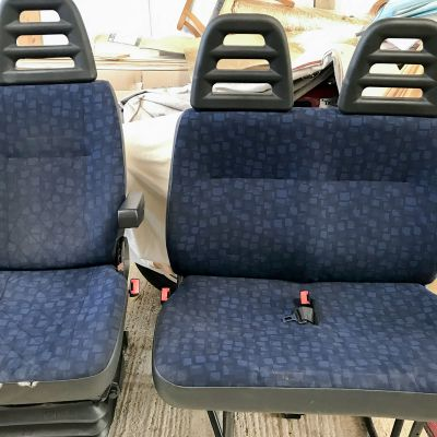 "Photo of project ""Iveco driver seat and double seat leather upholstery"" #8"