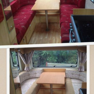 "Photo of project ""Motorhome Fabric + Suede upholstery"" #7"