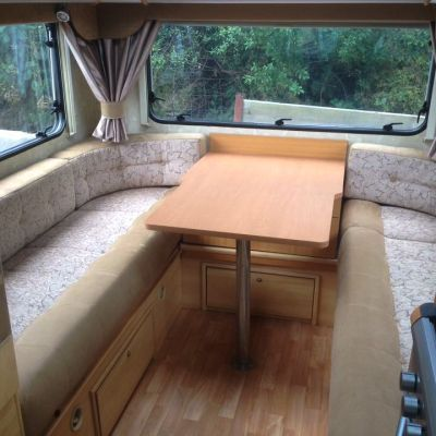 "Photo of project ""Motorhome Fabric + Suede upholstery"" #1"