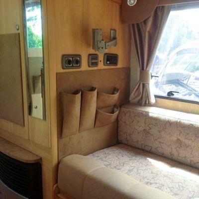 "Photo of project ""Motorhome Fabric + Suede upholstery"" #5"