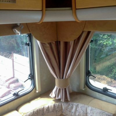 "Photo of project ""Motorhome Fabric + Suede upholstery"" #4"