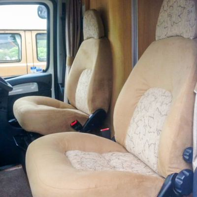 "Photo of project ""Motorhome Fabric + Suede upholstery"" #2"