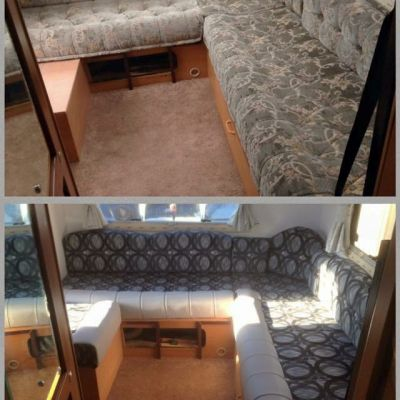 "Photo of project ""Motorhomes cushions and seats upholstery"" #4"