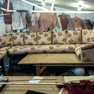 "Photo of project ""Static Caravan Upholstery 5"" #11"