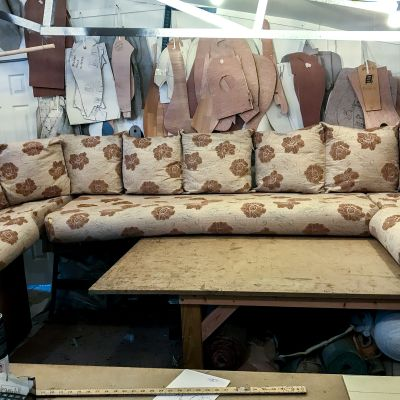 "Photo of project ""Static Caravan Upholstery 5"" #10"