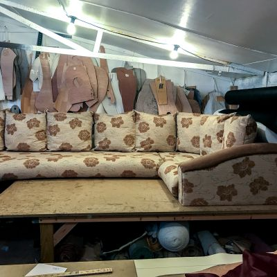 "Photo of project ""Static Caravan Upholstery 5"" #9"
