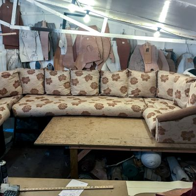 "Photo of project ""Static Caravan Upholstery 5"" #8"