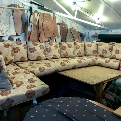 "Photo of project ""Static Caravan Upholstery 5"" #7"