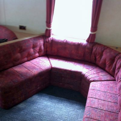 "Photo of project ""Static Caravan Upholstery 7"" #3"