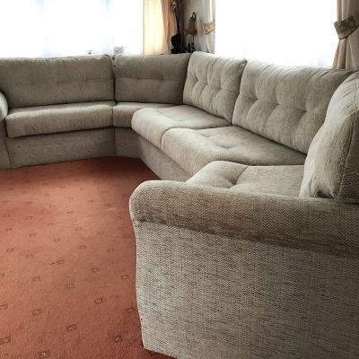 "Photo of project ""Static Caravan Upholstery in Seaford"" #7"