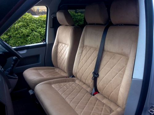 Preview for Volkswagen T4 Van Suede Upholstery